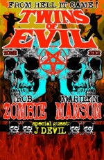 Rob Zombie & Marilyn Manson: The Twins of Evil are on their way to New England!