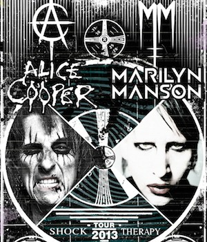 Marilyn Manson And Alice Cooper-Tour!