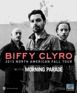 Biffy Clyro announce 2013 North American Headlining Tour