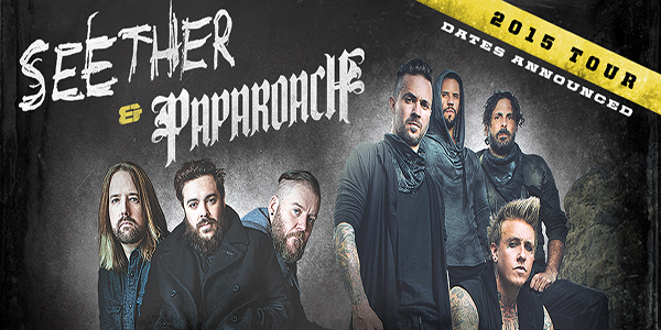 SEETHER AND PAPA ROACH SET TO OPEN 2015 WITH A BANG