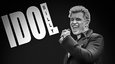 Billy Idol & Steve Stevens at the  House of Blues Boston-Foundation Room