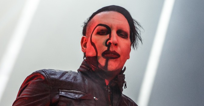 Marilyn Manson and the Smashing Pumpkins at the Blue Hills Bank Pavilion – Boston