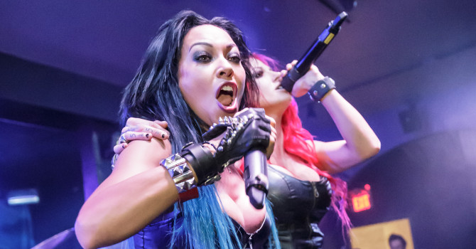 Amaranthe and the Butcher Babies at the Jewel Nightclub – Manchester, NH
