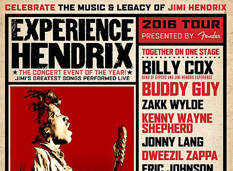 The Experience Hendrix Tour Is Coming To New England!