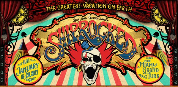 The Eighth Annual ShipRocked Cruise Sets Sail January 2017