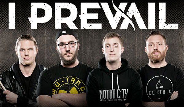 I PREVAIL TO  MAKE A STOP IN BOSTON ON THEIR NORTH AMERICAN HEADLINING TOUR