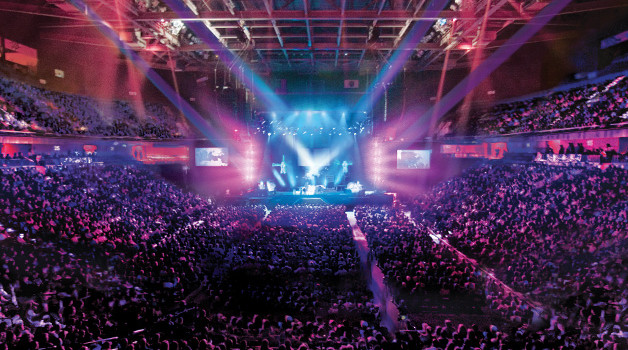 Congratulations Mohegan Sun Arena, Ranked #1 Casino Venue Worldwide!!