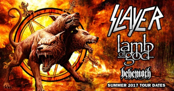 Slayer To Set Out On Summer Tour With Lamb Of God and Behemoth