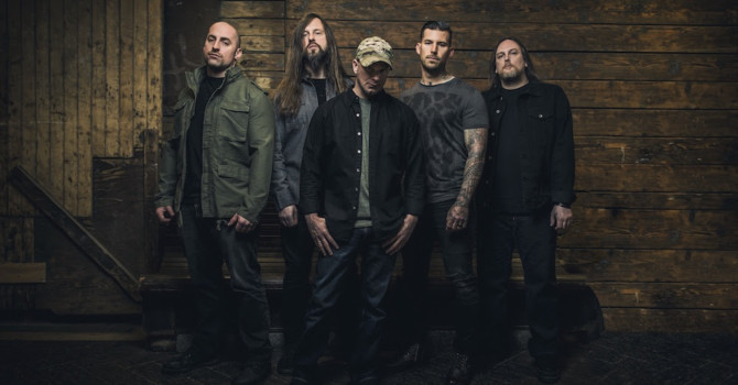 As All That Remains Prepare For The Release Of Their New Album 'Madness', Due Out April 28th