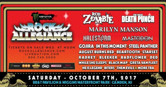 MONSTER ENERGY ROCK ALLEGIANCE RETURNS IN OCTOBER TO A NEW LOCATION