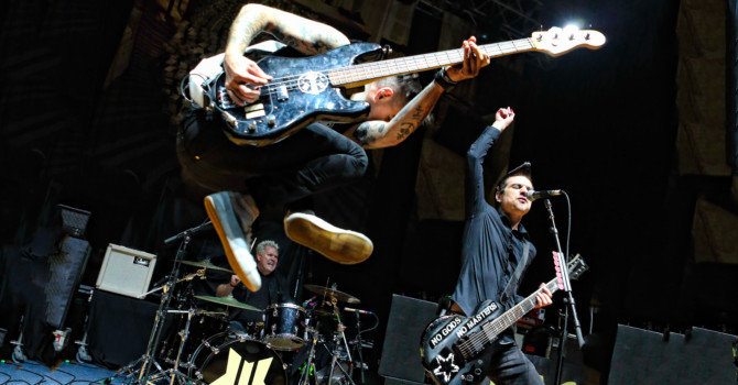 Flogging Molly and Anti-Flag at the Palladium – Worcester, MA