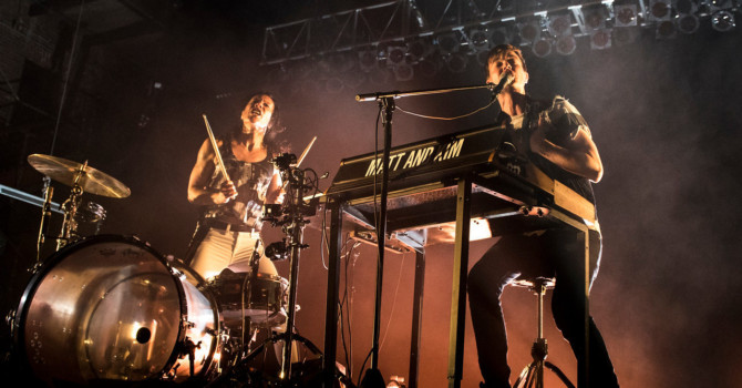 MATT AND KIM ARE BACK SLAYING STAGES AND ARE SET TO  RELEASE 'ALMOST EVERYDAY' THIS MAY