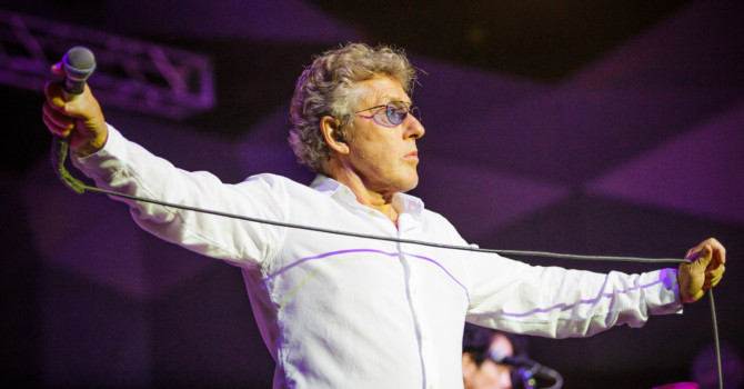 Roger Daltrey with the Boston Symphony Orchestra at Tanglewood – Lenox, MA