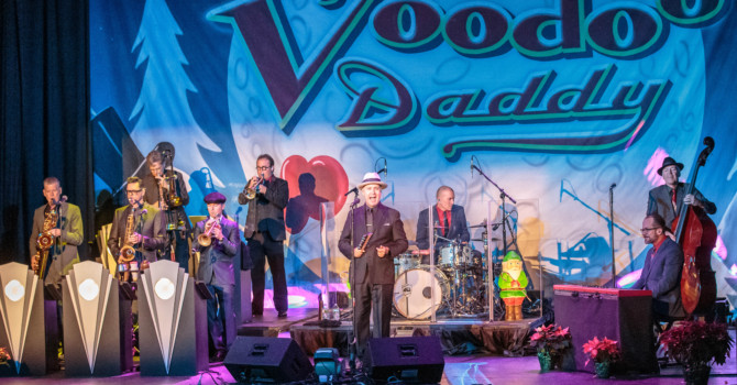 Big Bad Voodoo Daddy at the Cabot – Beverly, MA
