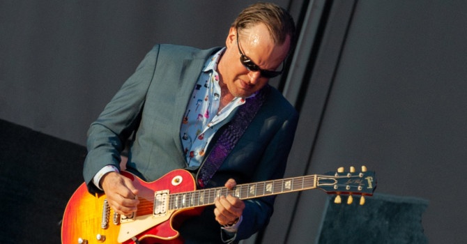 Joe Bonamassa at the Maine Savings Pavilion